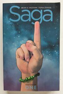 Saga Compendium 1 Brian K. Vaughan Fiona Staples Image Graphic Novel Comic Book