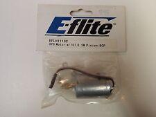 E-flite - 370 Motor w/10T 0.5M Pinion: BCP - Model # EFLH1110C