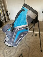 Top Flite Stand Golf bag Gray/Turquois preowned