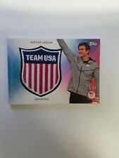2016 Topps Team USA Nathan Adrian Relic Jersey Patch Card /99