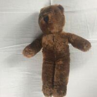 "Aldon Heart Co Plush Bear VTG 14"" Stuffed Teddy Kids Animal Collectible Cuddly"