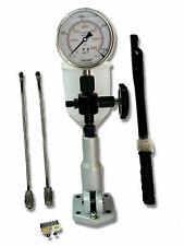 Diesel Injector Nozzle Pop Tester Glycerin Filled Dual Scale 6000 BA PSI Gauge F