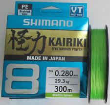 SHIMANO KAIRIKI 8 Braided Line 150 / 300 m