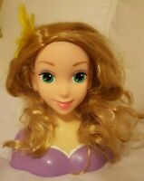 Styling Head Style Pretty Doll head Disney Toy w defect below nose Pre-owned