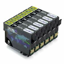 6 Pack of Epson 18XL Compatible Replacement Black Ink Cartridges Expression Home