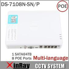 Hikvision DS-7108N-SN/P Plug & Play 8CH économique PoE NVR pour HD Caméra IP 8