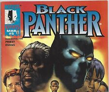 Black Panther #5 Vol.2 from Avengers from Mar. 1999 in Fine+ con. DM Movie!