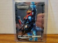 Ultimate Iron Man Marvel Upper Deck trading card signed by Stan Lee COA