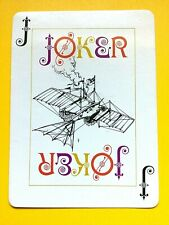 Oversize Fantasy Flying Contraption in Air Joker Single Swap Playing Card