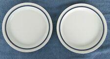 """2 Dansk Bistro Christianshavn Blue 8.75"""" Salad Plate Portugal"""