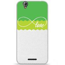 Coque Housse Etui Acer Liquid Z630 à motif Silicone Gel qualité FR - Love vert