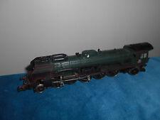 Locomotive vapeur train SNCF 241 P 7 241.P.7 Dépôt NEVERS Jouef HO 1/87