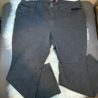 """Torrid Jeans """"Barely Boot Jeans"""" Black Stretchy Size 22R (31.5"""" Inseam) Denim"""
