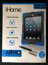 "(New) iHome-""ARMO"" The Ultimate Tough Case for iPad mini, Stylus Pen Included"
