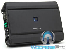 ALPINE S-A55V 5-CHANNEL 60W RMS X 4 + 300W RMS X 1 COMPONENT SPEAKERS AMPLIFIER