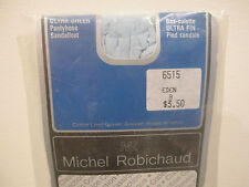 VINTAGE MICHEL ROBICHAUD ULTRA-SHEER Pantyhose Nylons Stockings MEDIUM BLUE