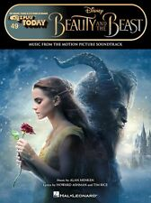 BEAUTY AND THE BEAST MOVIE EASY E-Z PLAY TODAY PIANO SHEET MUSIC SONG BOOK