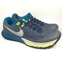Nike Air Zoom Terra Kiger 4 Trail Mens Running Shoes Trainers Gray 880563-005