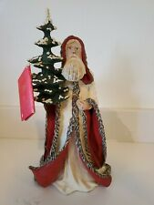 "Duncan Royale Kris Kringle 13"" Figurine History of Santa Le Apsit Rodrigues 1983"