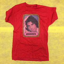 Vinny Barbarino John Travolta Graphic Mens Red 1980's Vintage T Shirt
