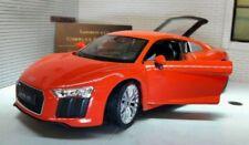 Modellini statici di auto , furgoni e camion rossi marca WELLY audi