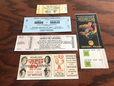 5 RARE  BOXING TICKETS