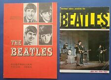 2x The Beatles 1964 tour programme Australia New Zealand Kerridge Odeon presents