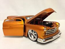 1951 Mercury Chopped Top Lead Sled, Collectible Diecast 1:24, Jada Toy, Gold DSP