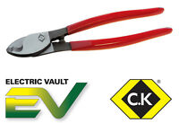 CK Tools 210mm Heavy Duty Copper Cable Cutter For Cable Wire up to 11mm T3963