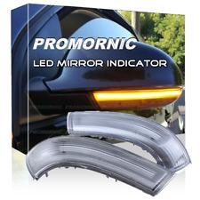 Side Mirror LED Turn Signal Light Indicator For VW Golf 5 Jetta MK5 Passat B6