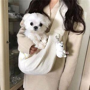 Pet Cat Dog Carrier Outdoor Travel Handbag Shoulder Bag Sling Carry Front Pack