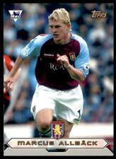 Topps Premier Gold 2004 - Aston Villa Marcus Allback - AV6