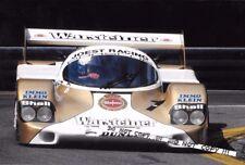 9x6 fotografía Bob Wollek de Joest-Porsche 956 DRM NORISRING 500 km 1983
