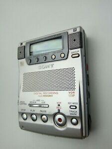 SONY MZ-B100 Stereo MiniDisc Business MD Recorder. Full metal body in VGC