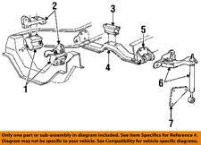 Genuine 1985-2003 Ford Ranger rear engine support E9TZ-6A023-E