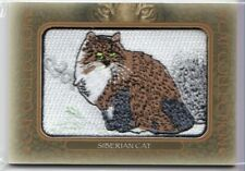2020 Ud Goodwin Champions Cat Collection Siberian Cat Patch Patches Fc-16 Tier 1