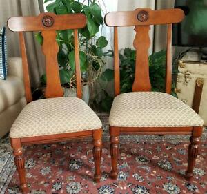 Pr. Ethan Allen British Classics Splatback Side Chair  29-6400