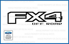 2016 Ford FX4 Off Road Decal Sticker Set - [ matte black ] blackout flat truck