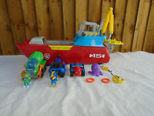 Paw Patrol Sea Patroller Boat Plus Rocky Chase & Ryder Vehicles 🐾
