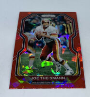2020 Panini Prizm Joe Theismann Red Ice Washington Redskins HOF HTTR #185