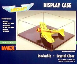 IMEX Airplane Case Clear Base IMX2504-NEW