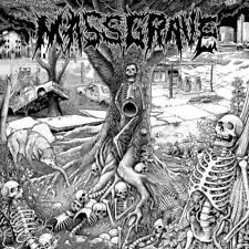 "MassGrave ‎– Our Due Descent 12"" Black Vinyl / Gatefold (2018) Punk Grindcore"