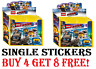 The LEGO Movie 2 Stickers  ☆  CHOOSE The Stickers You Need  ☆ Buy 4 Get 8 Free!