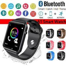 A1 Smart Watch BT Waterproof GSM SIM Phone Camera For Android Samsung LG HTC ETC