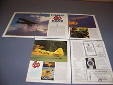 VINTAGE..PIPER PA-18-150 SUPER CUB HISTORY..HISTORY/DETAILS/SPECS..RARE! (883M)