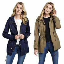Brave Soul Cotton Outdoor Coats & Jackets for Women