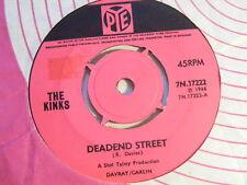 """THE KINKS Deadend Street   Pye 1966 UK 7"""""""