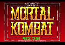 Mortal Kombat 1 - Sega Genesis Game Complete