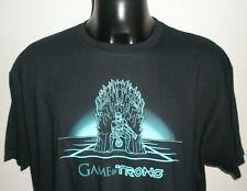 Qwertee Game of Trons- Tron T Shirt 2XL Black Gildan 27 INCH pit to pit