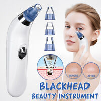 Suction Facial Pore Vacuum Electric Blackhead Remover Extractor Cleaner 4 in 1